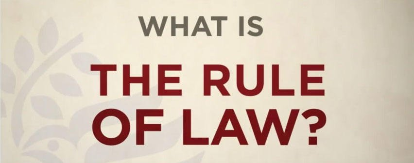 Civics – The Rule of Law