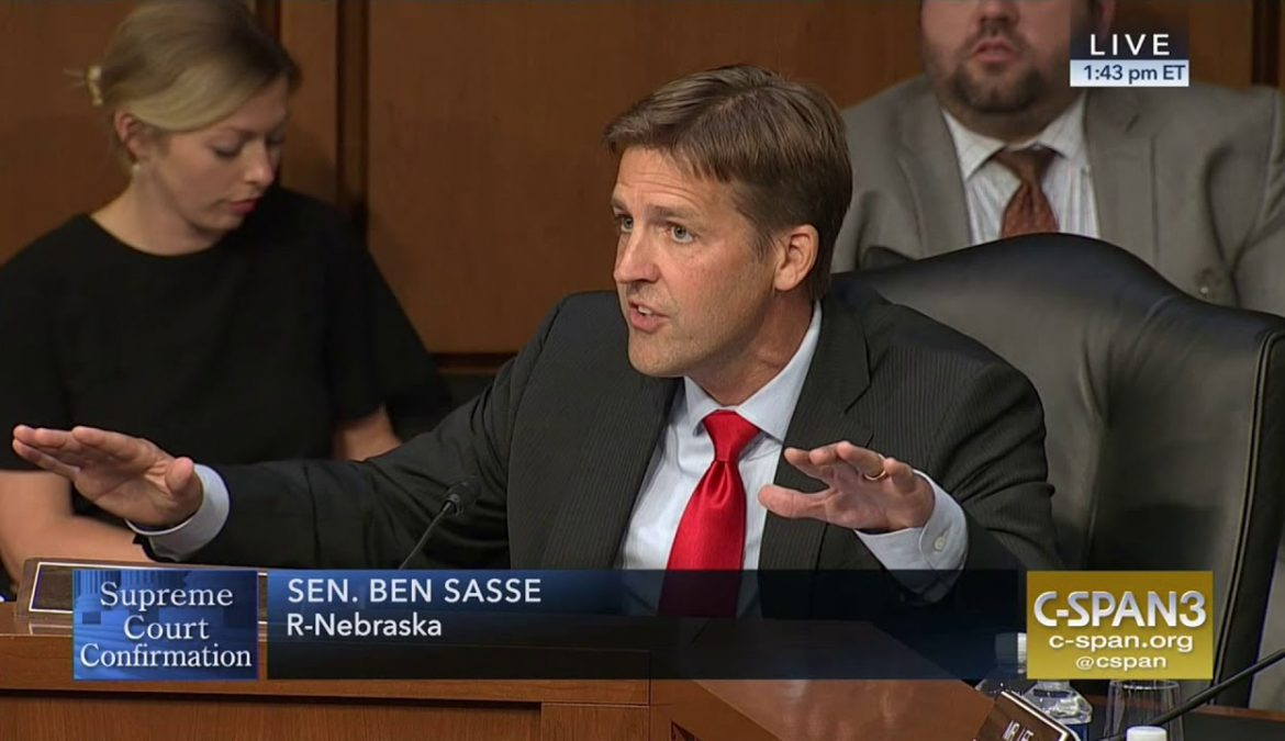 CIVICS – The Role of the Three Branches of Government- by Ben Sasse, Senator from Nebraska